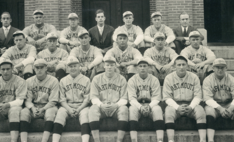 Red Rolfe, Dartmouth Baseball 1931
