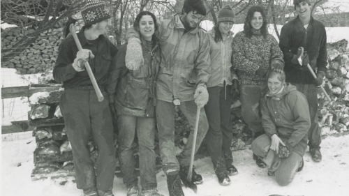 Wood and Weatherization Crew, 1983