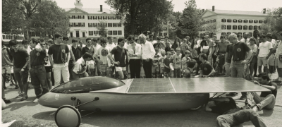 Big Green Solar Car