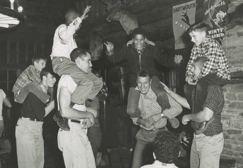 1958, Volunteering at the lodge