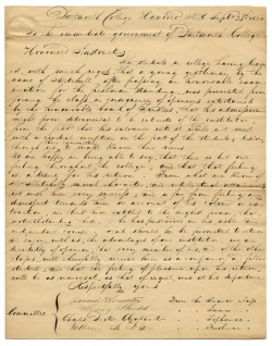 Mitchell Letter