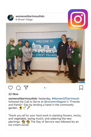 Day of Service - Instagram