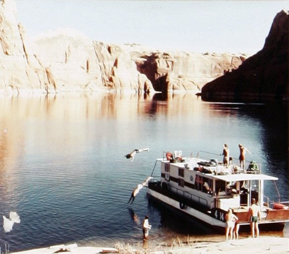 The Stretch, 1980. Lake Powell